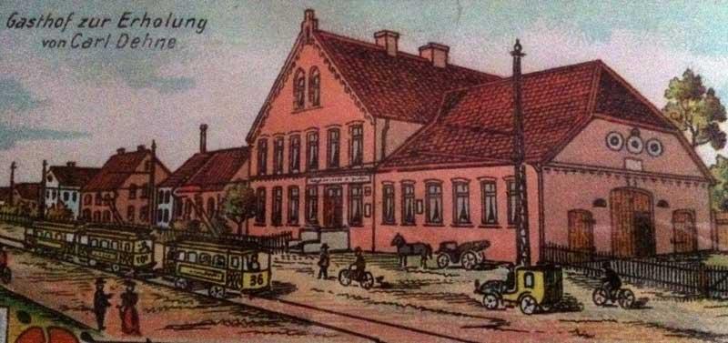 Gasthaus Dehne damals