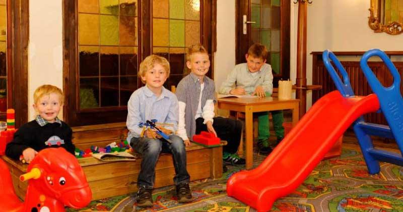 Spielecke für unsere kleinen Gäste