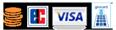 Es kann bar, mit Visa, EC- bzw. Girocard bezahlt werden